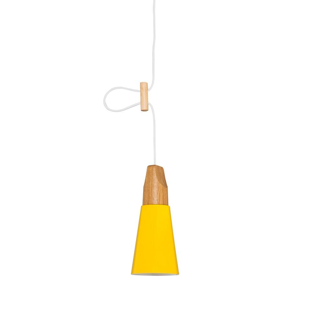 Závesné svetlo Tomas XS, žlté
