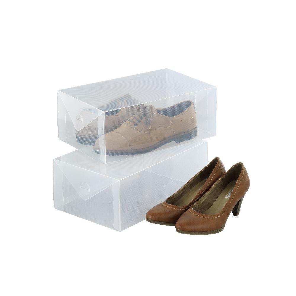Set 2 úložných boxov na topánkyWenkoPack