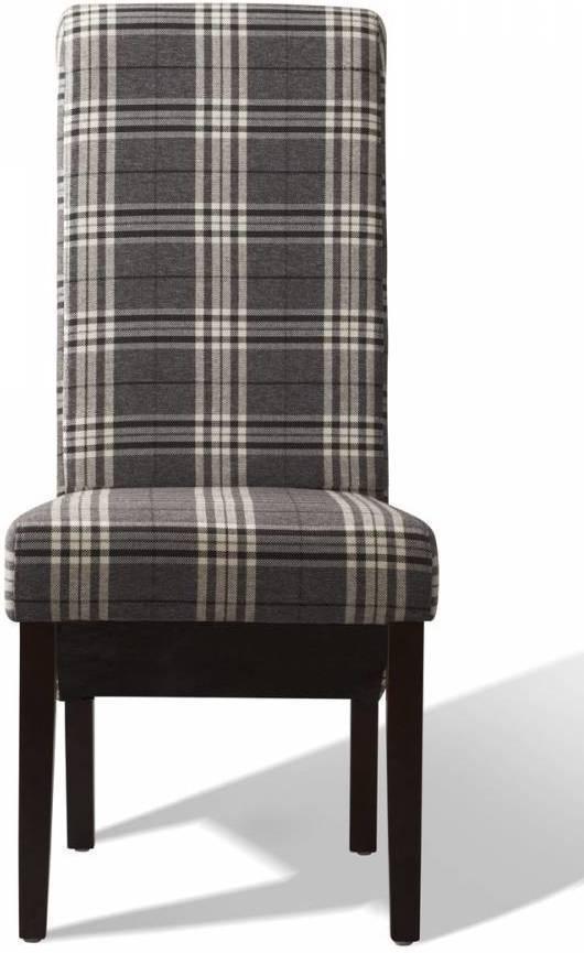 Jedálenská stolička PARADE - sivá