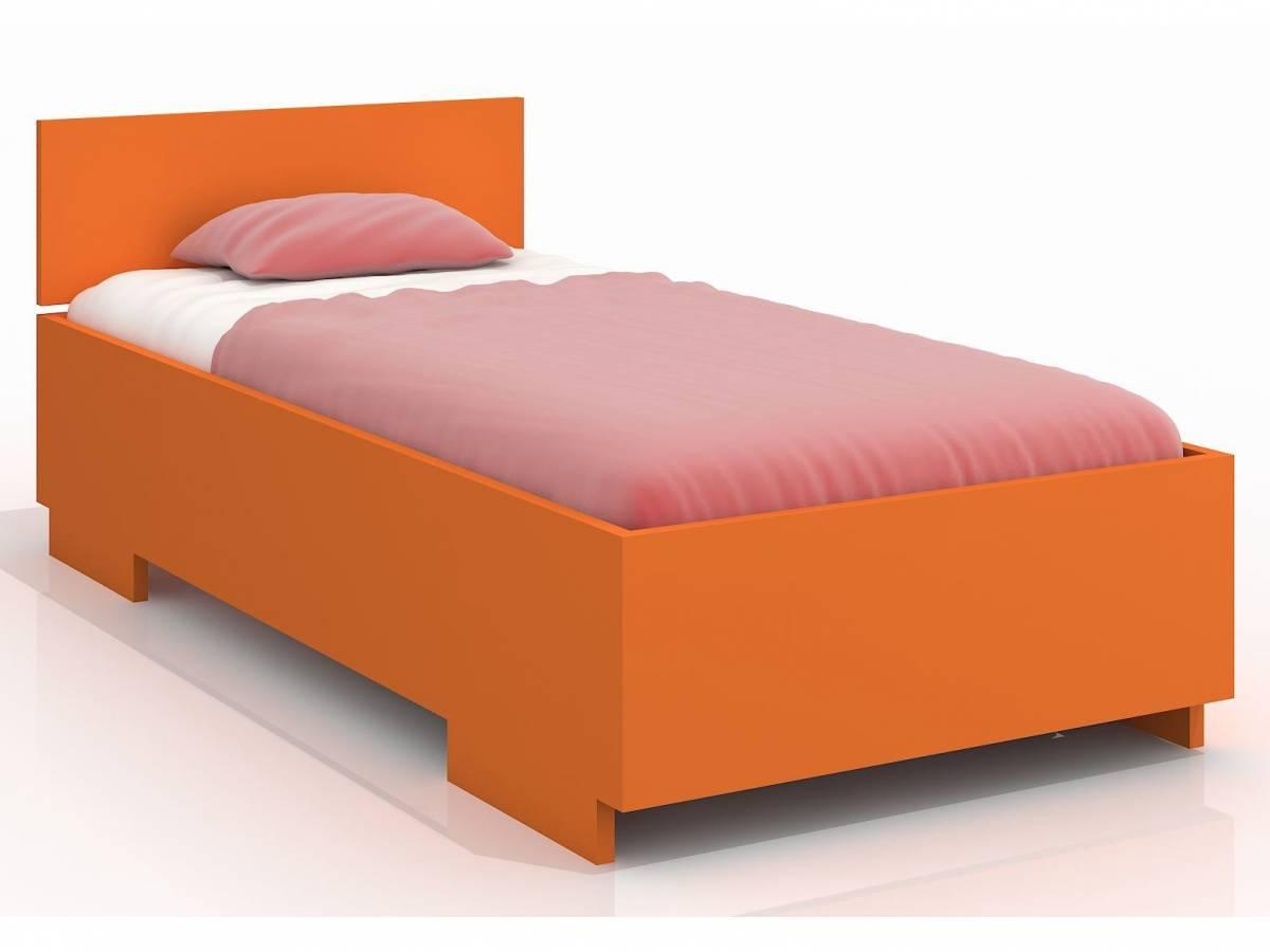 Jednolôžková posteľ 120 cm Naturlig Kids Larsos High (borovica) (s roštom)