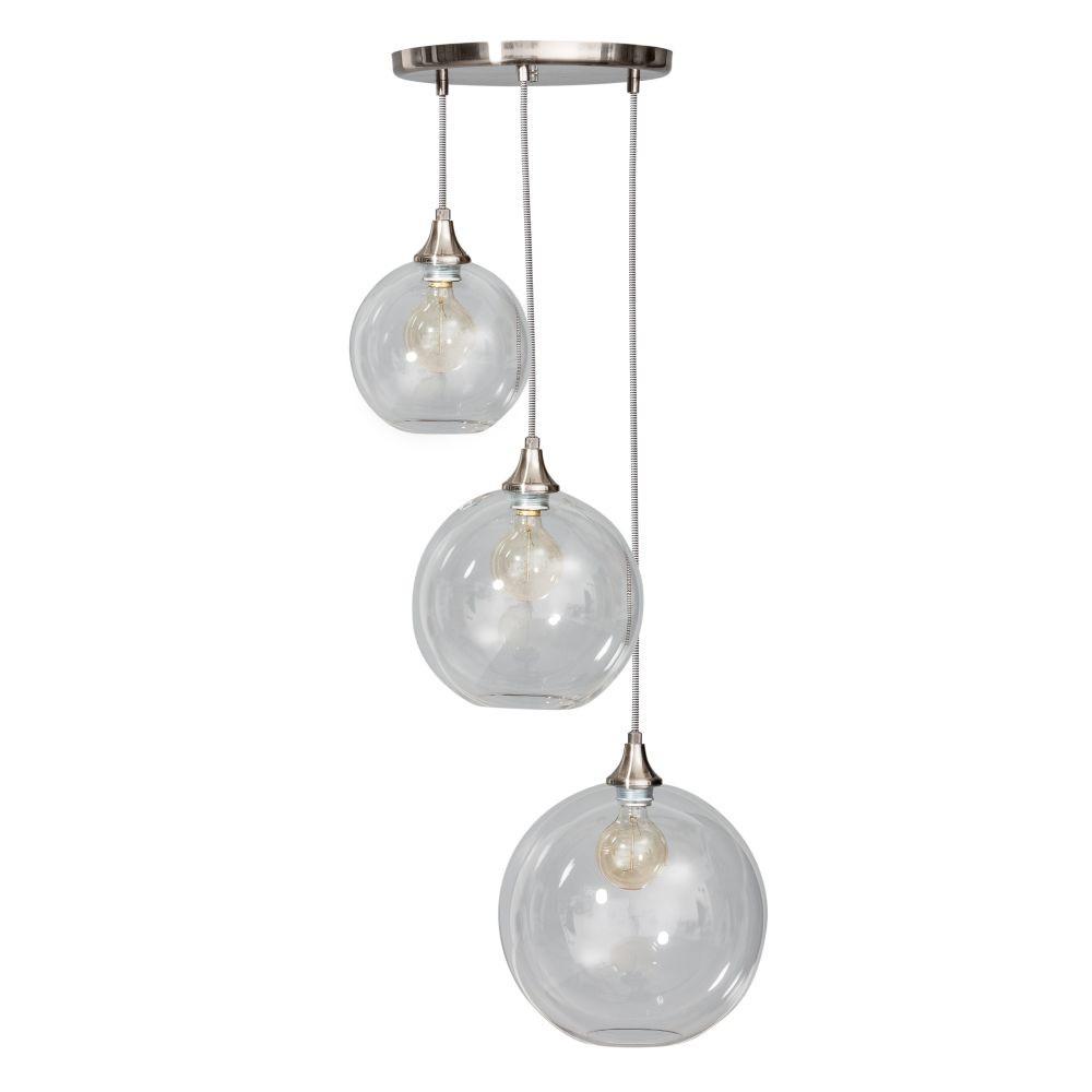 Trojité stropné svietidlo ETH Calvello