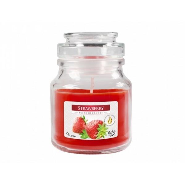 Vonná sviečka v skle Jahoda, 350 g