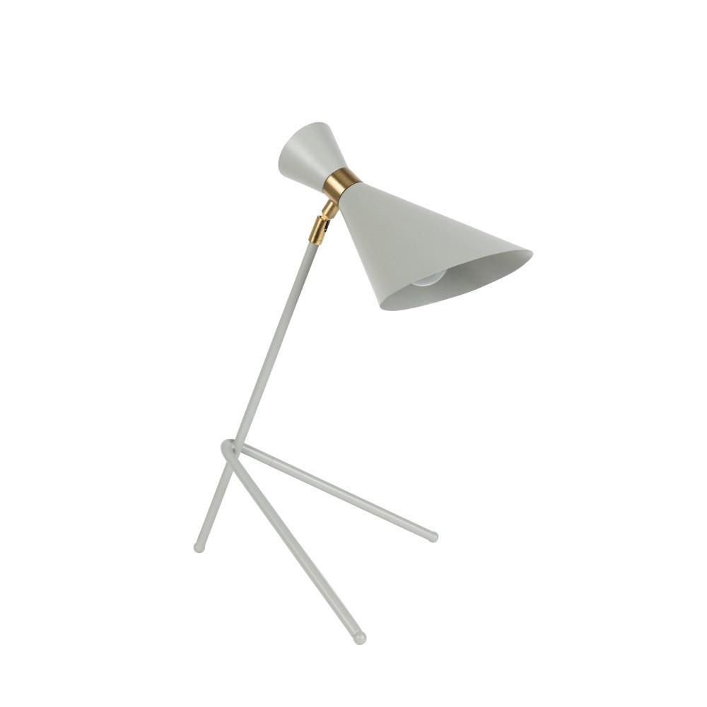 Sivá stolová lampa Zuiver Shady