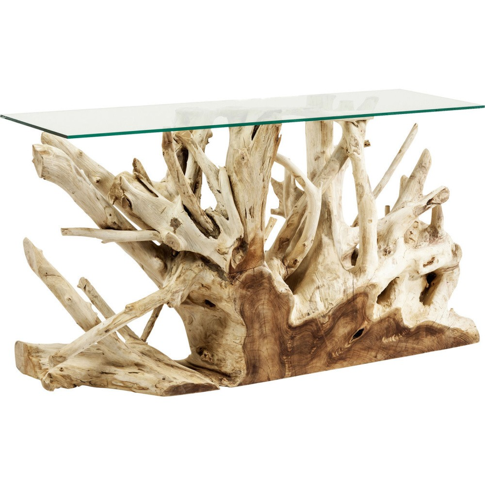 Konzolový stolík Kare Design Roots