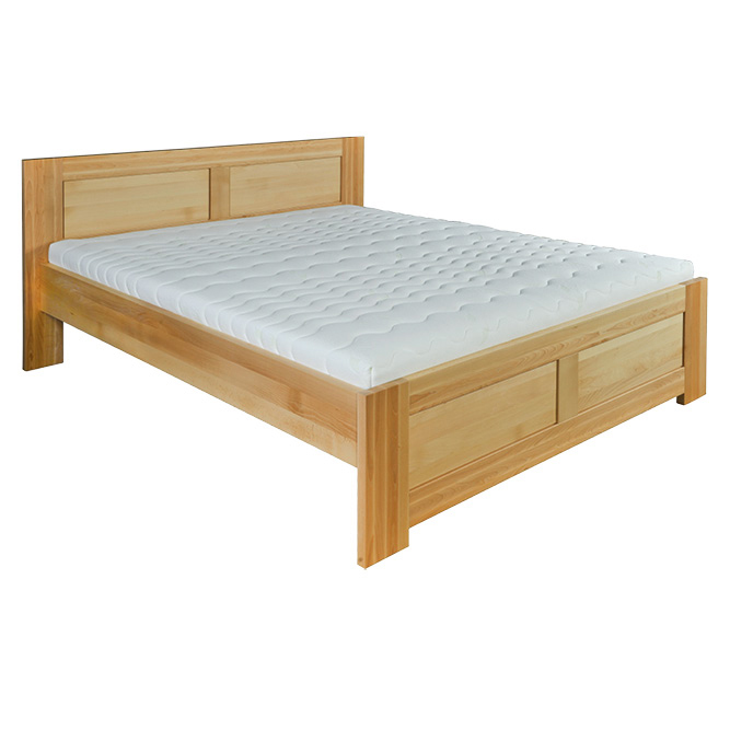 Jednolôžková posteľ 120 cm LK 112 (buk) (masív)
