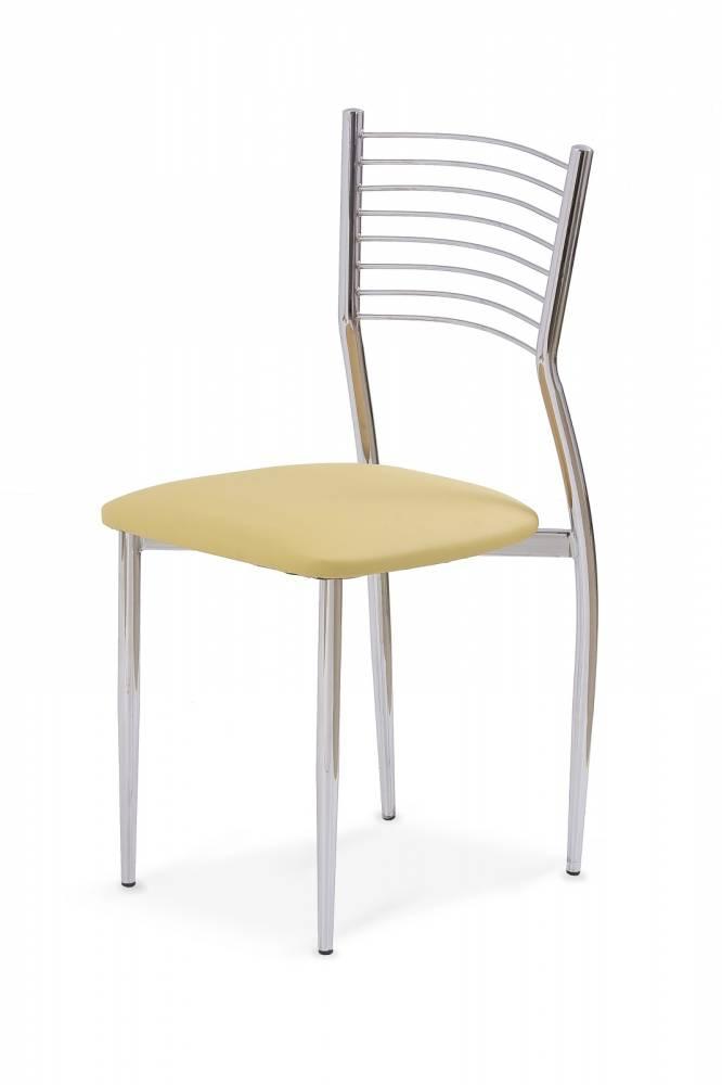 Jedálenská stolička K9 krémová