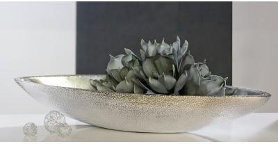 Dekoratívna miska OTNUP - platinová