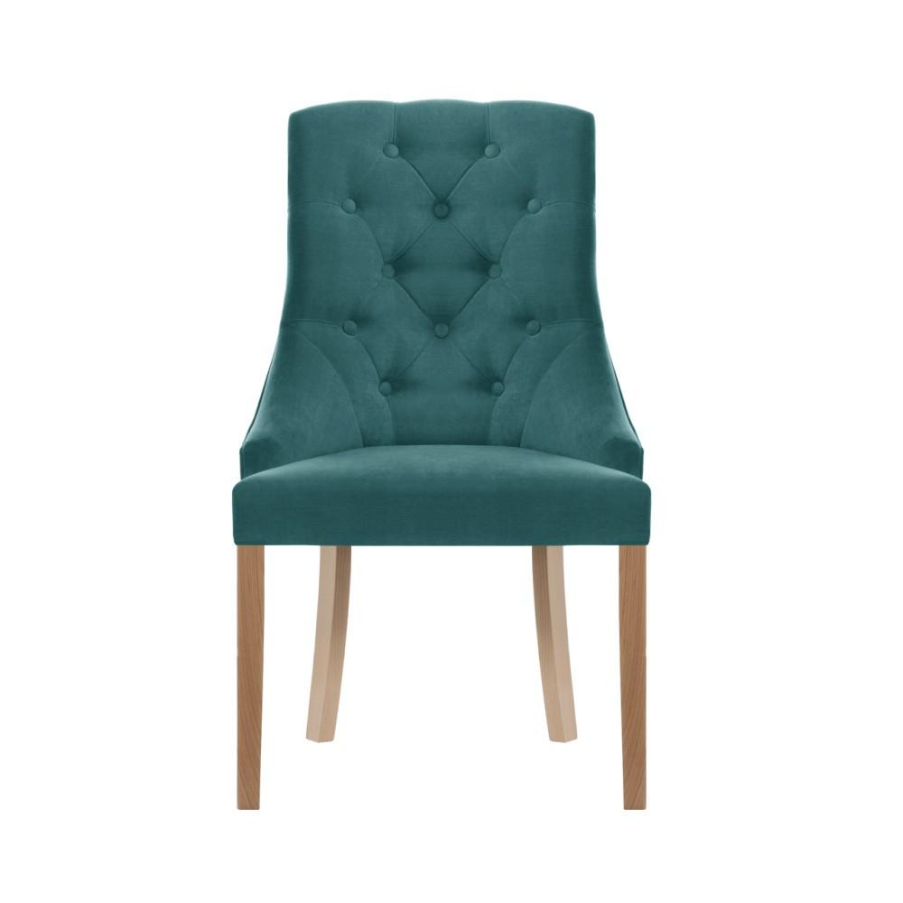 Tyrkysová stolička Jalouse Maison Chiara