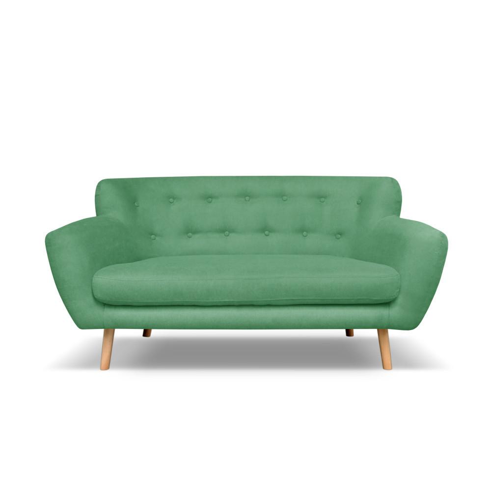 Zelená pohovka pre dvoch Cosmopolitan design London