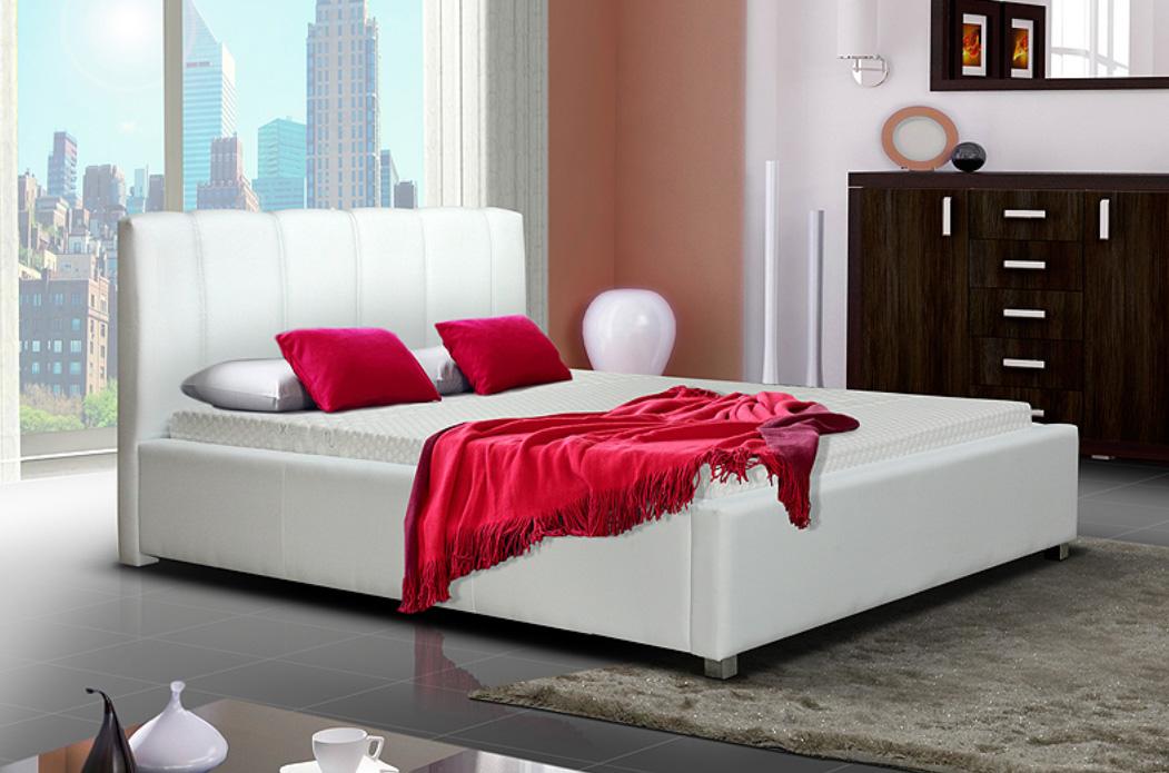 LUBICA I manželská posteľ s úložným priestorom 160 x 200 cm