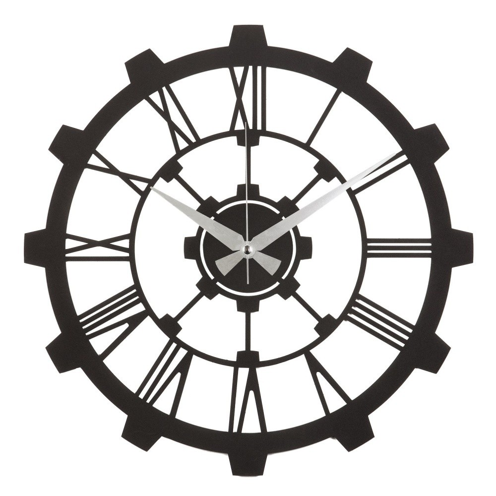 Kovové nástenné hodiny Sixteen
