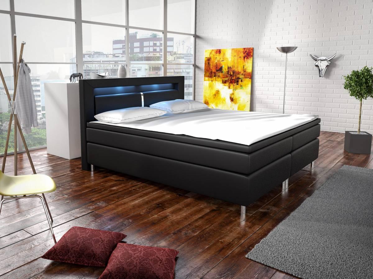 Manželská posteľ Boxspring 140 cm