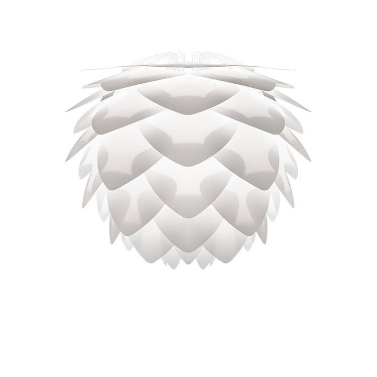 Biele svietidlo VITA Copenhagen Silvia, Ø 27 cm