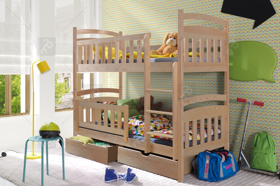 Nabytok-Bogart Poschodová posteľ lukášek 90 x 190 cm