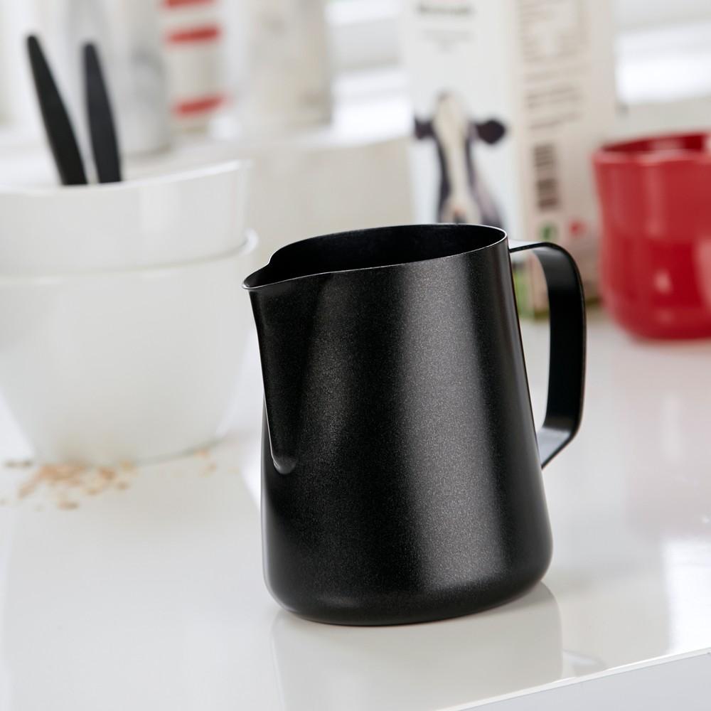 Antikororo nádoba na mlieko Steel Function Milk Black, 600 ml