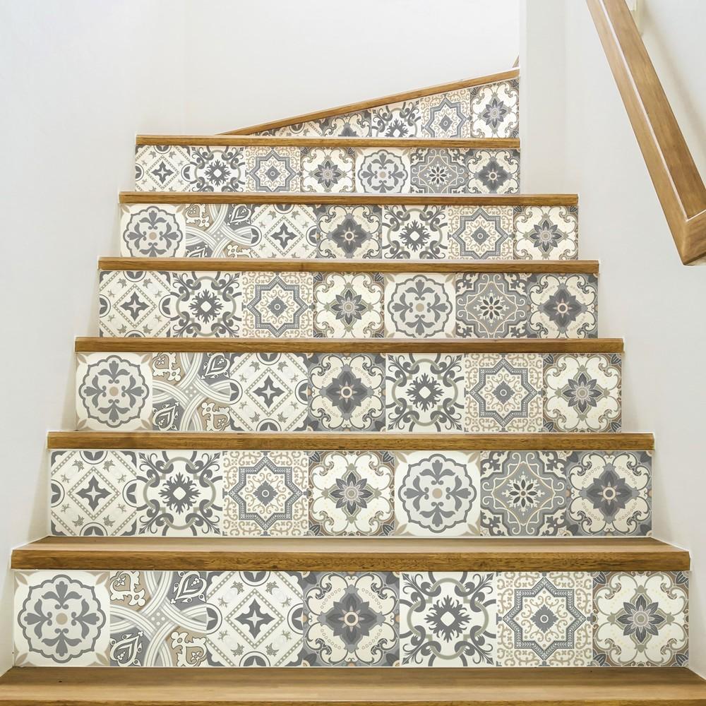 Sada 2 samolepiek na schody Ambiance Carenza, 15×105 cm