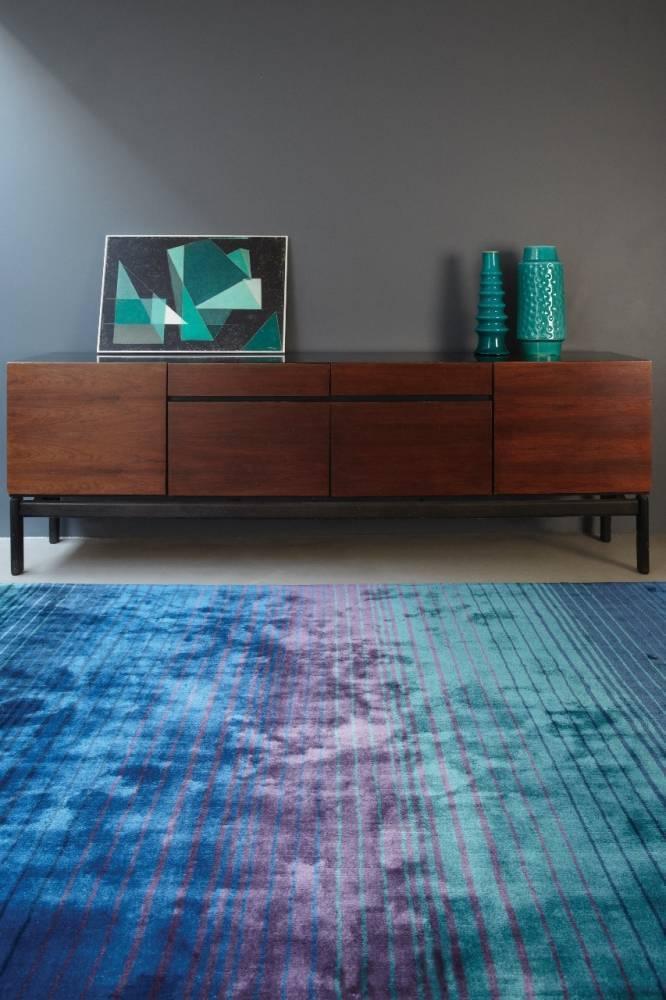 HOLBORN koberec - indigová