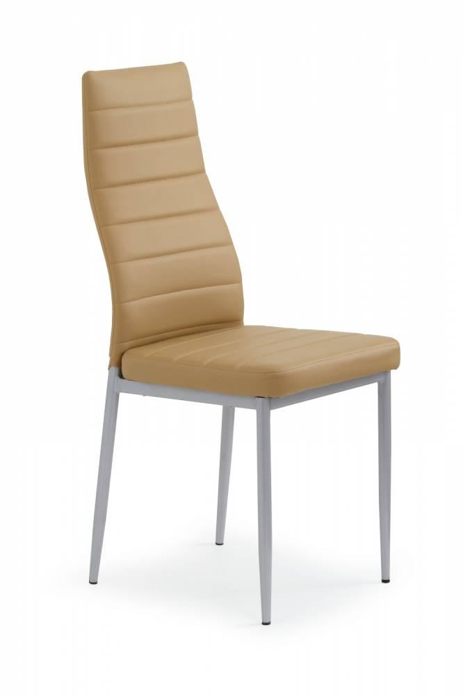 Jedálenská stolička K70 svetlohnedá