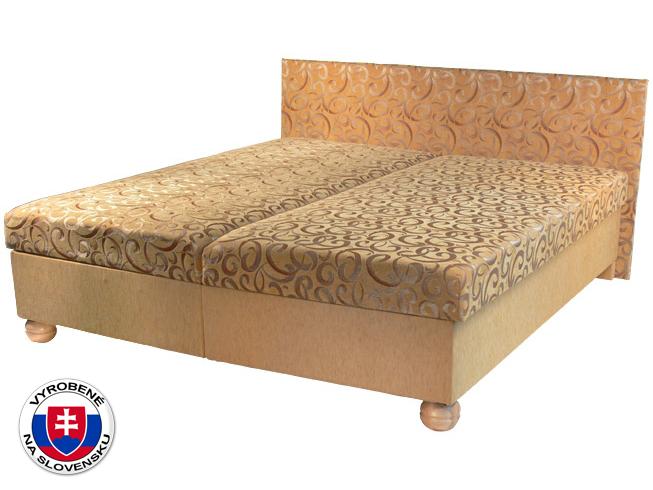 Manželská posteľ 180 cm Tamara (s pružinovým matracom)