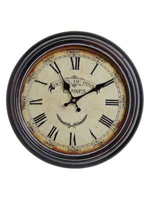 Nástenné hodiny Antique HOME 21154 Hotel de Pins, 37cm
