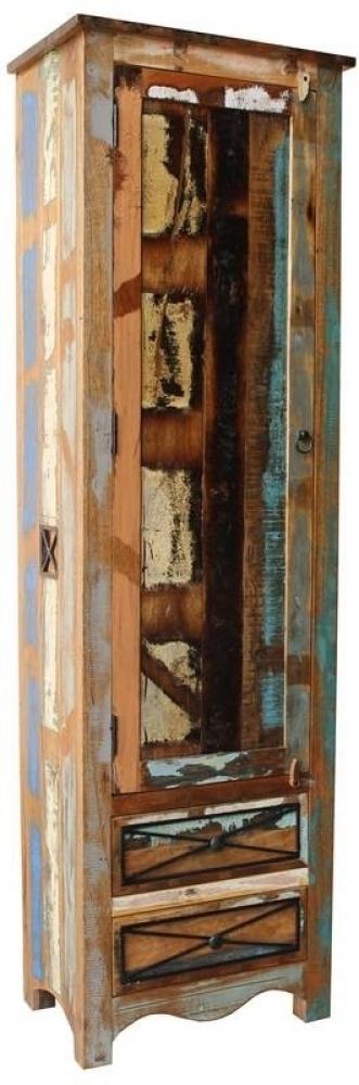 SPIRIT Skriňa na veci #109 indické staré drevo, lakované