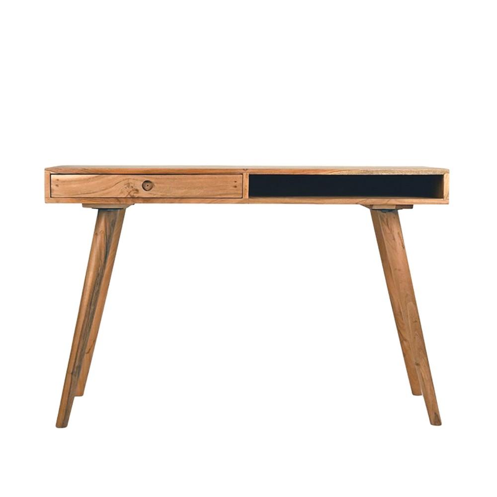 Pracovný stôl z akáciového dreva LABEL51