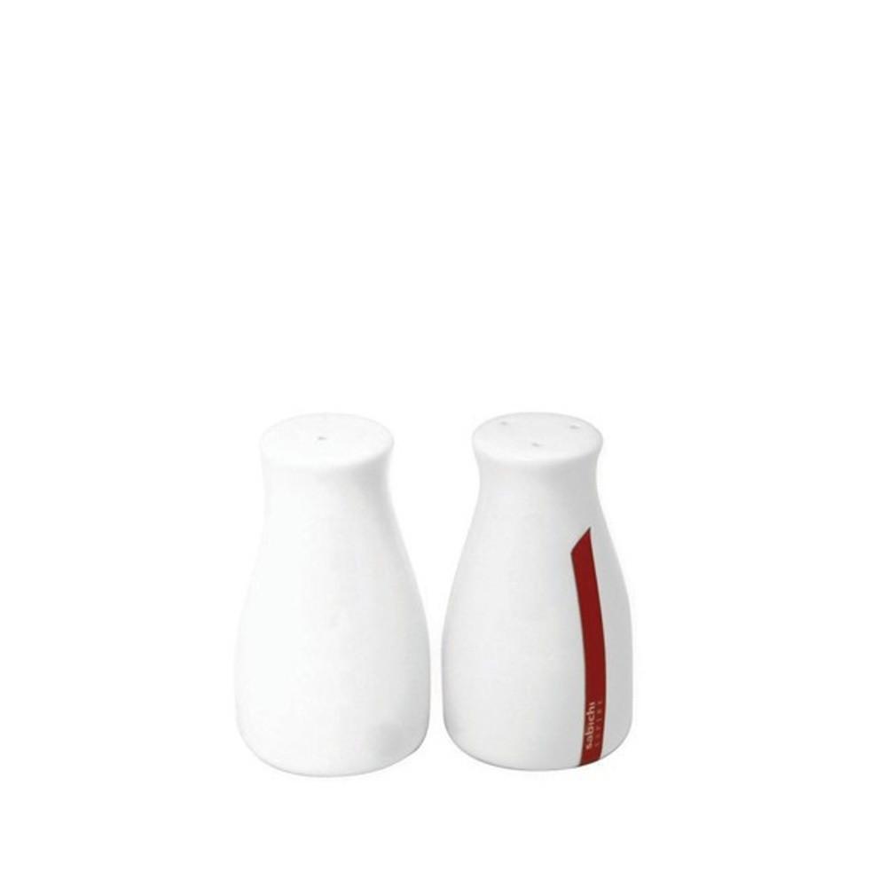 Soľnička a korenička z kostného porcelánu Sabichi Bone China