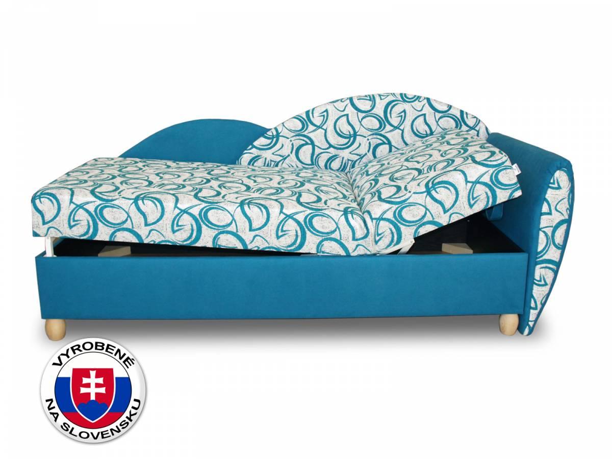 Jednolôžková posteľ (váľanda) 80 cm Benab Relax plus (s roštami a matracom)