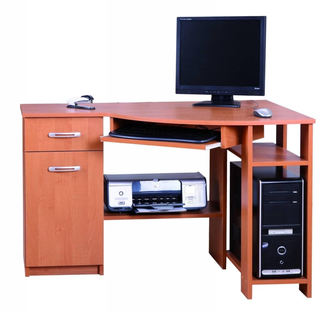 Rohový PC stolík Horn 4