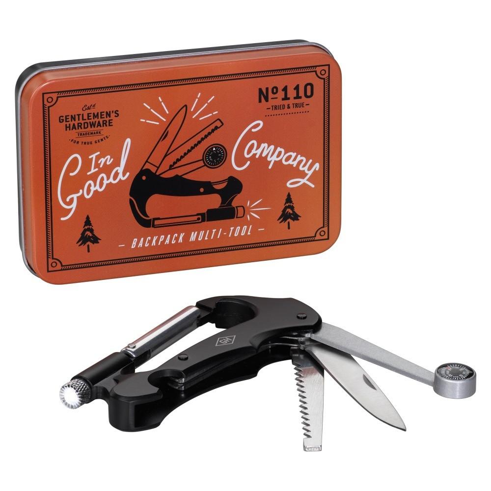 Multifunkčný nástroj pre cestovateľov Gentlemen's Hardware Good Company