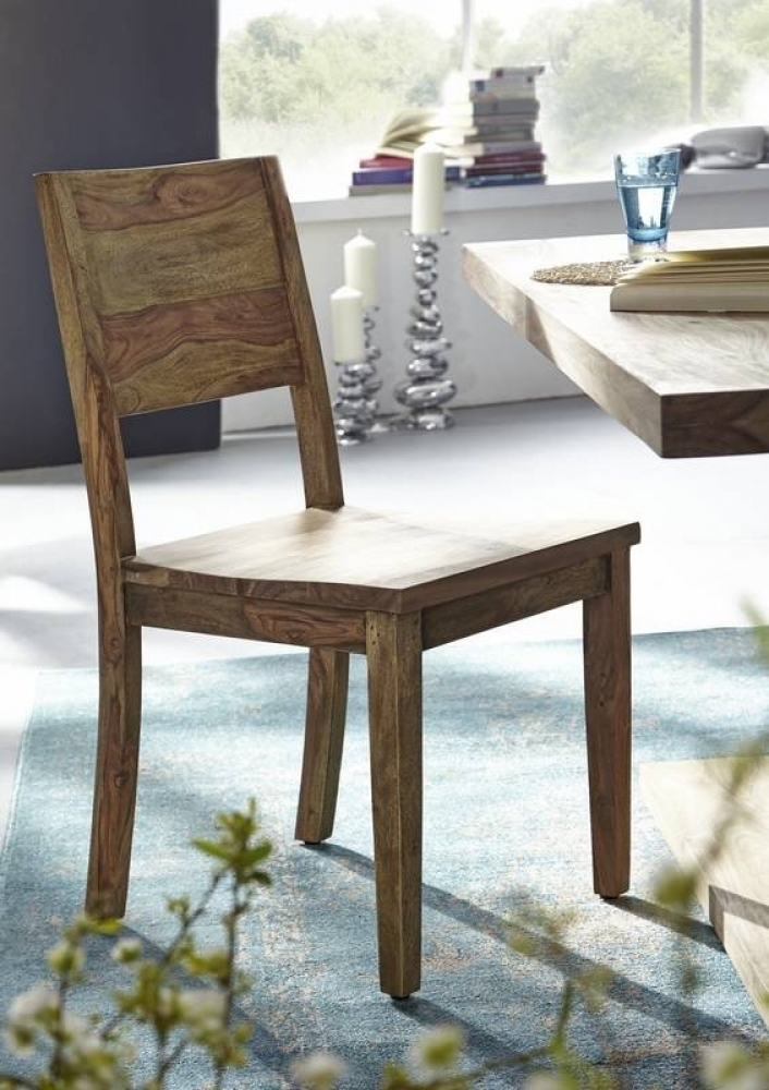 BUDDHA stolička #115 prírodný olejovaný indický palisander
