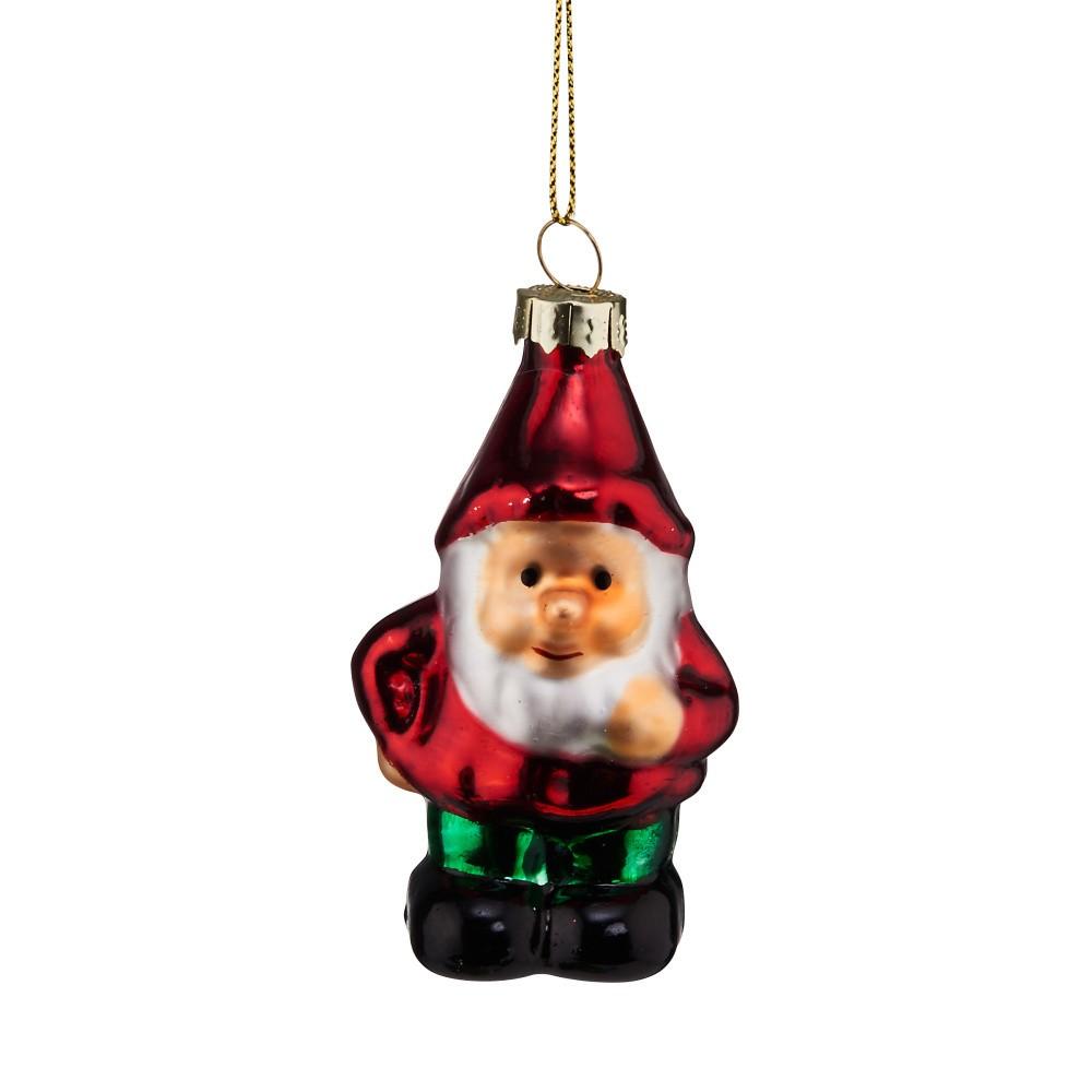 Vianočná závesná ozdoba zo skla Butlers Trpaslík