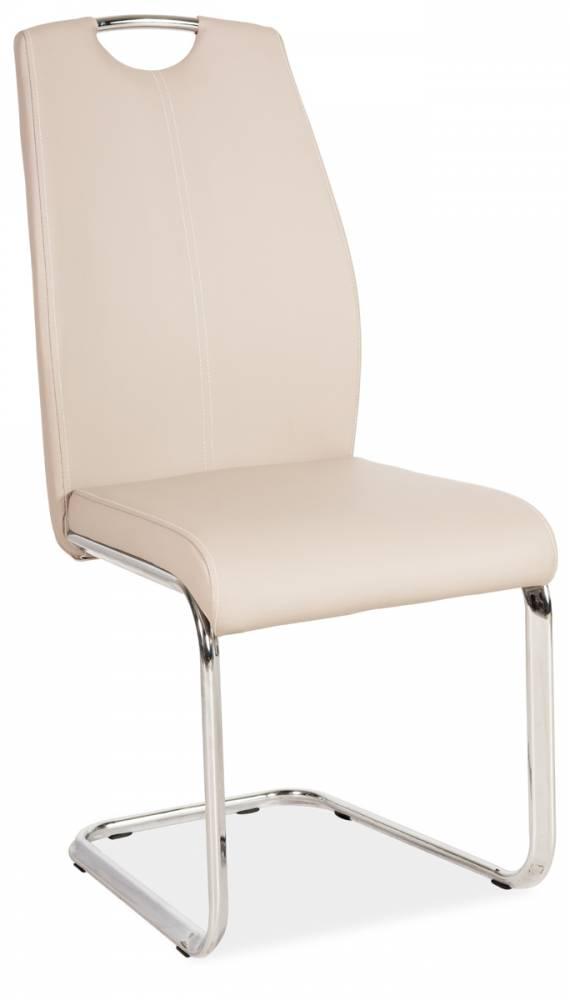 Jedálenská stolička HK-664, cappuccino