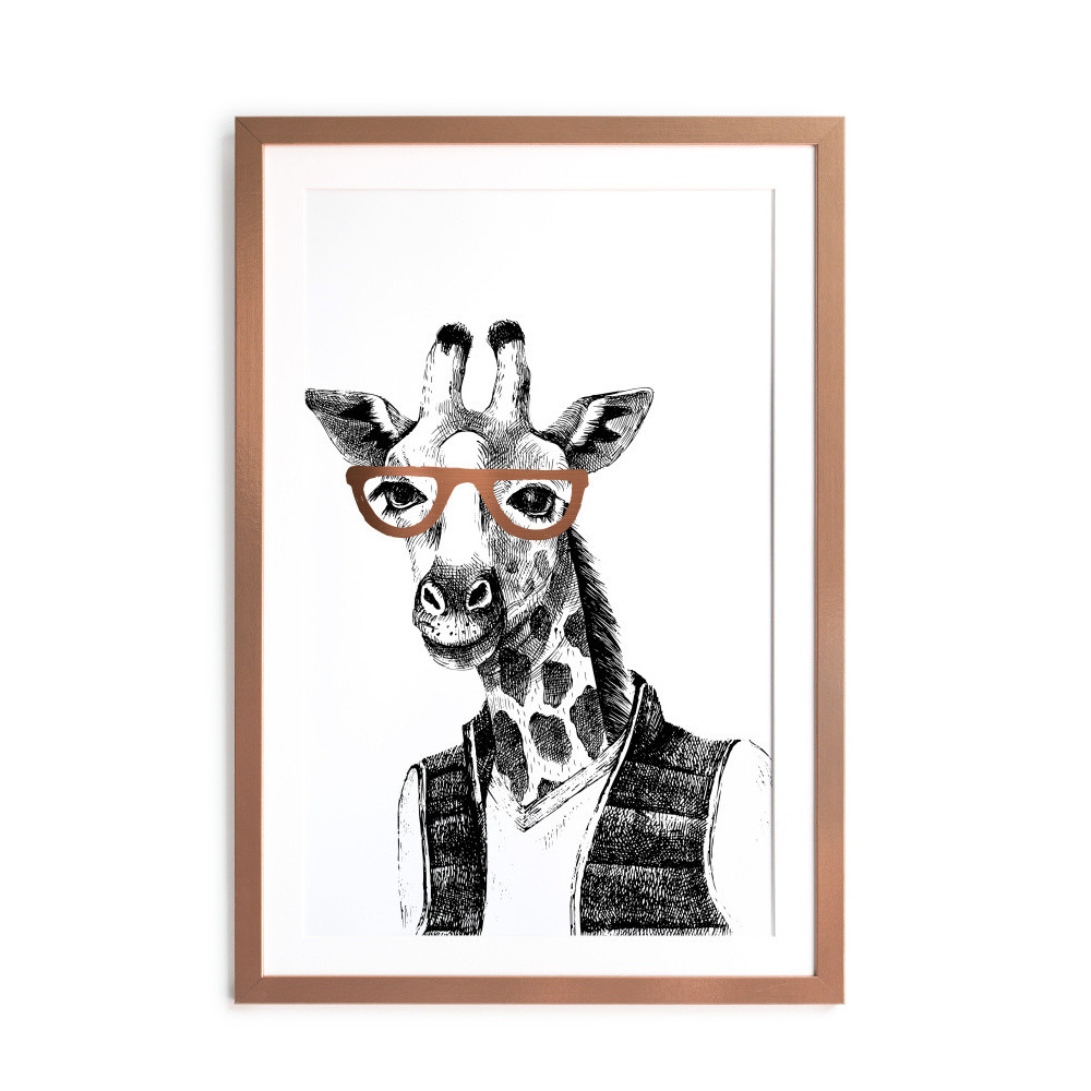 Obraz Really Nice Things Giraffe, 40x60cm