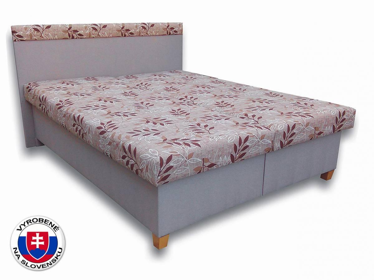 Manželská posteľ 160 cm Tamara (s penovými matracmi)