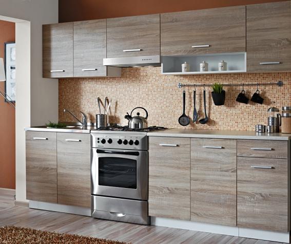 Kuchyňa Cyra New ZS 250 cm