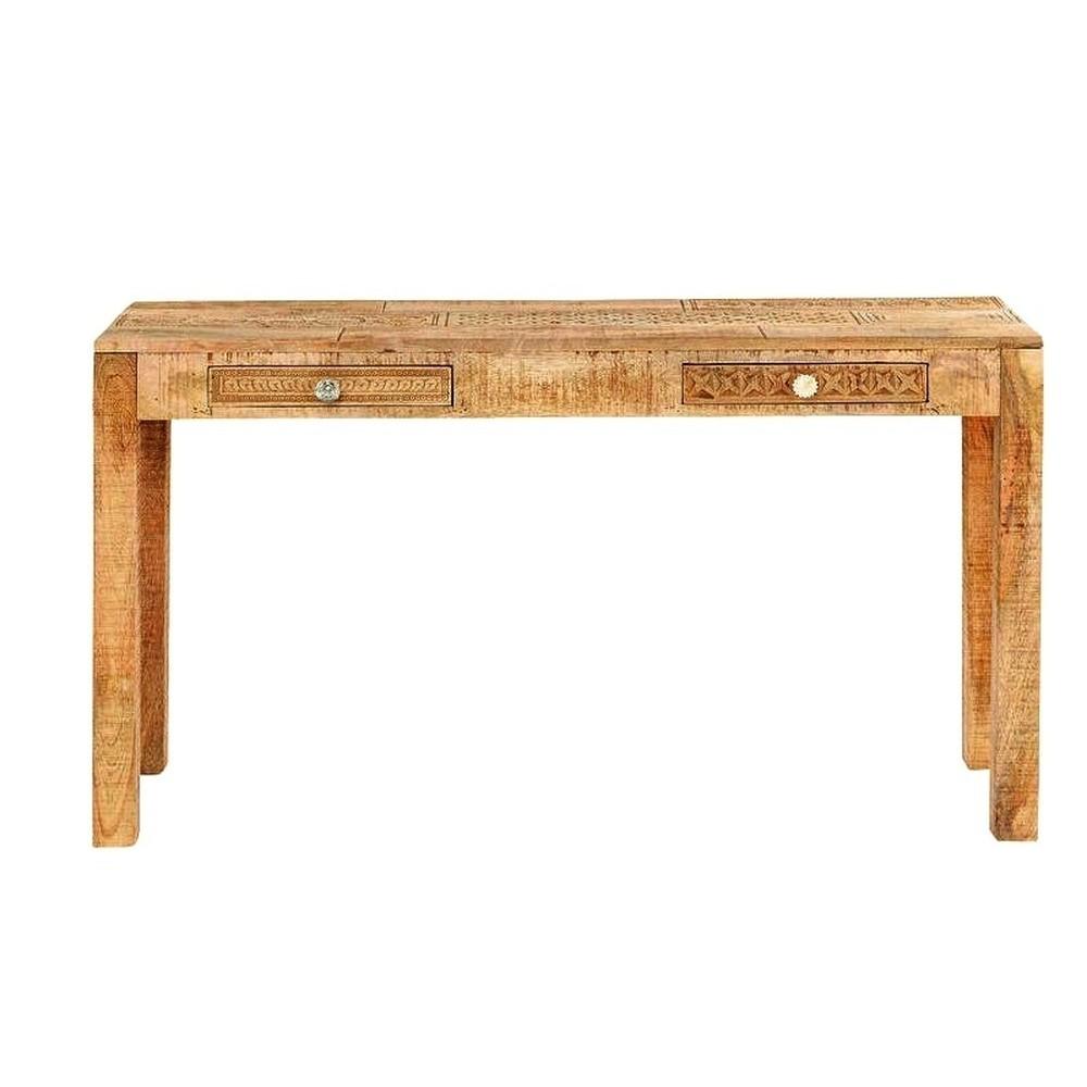 Konzolový stolík z masívneho mangového dreva Massive Home Ella