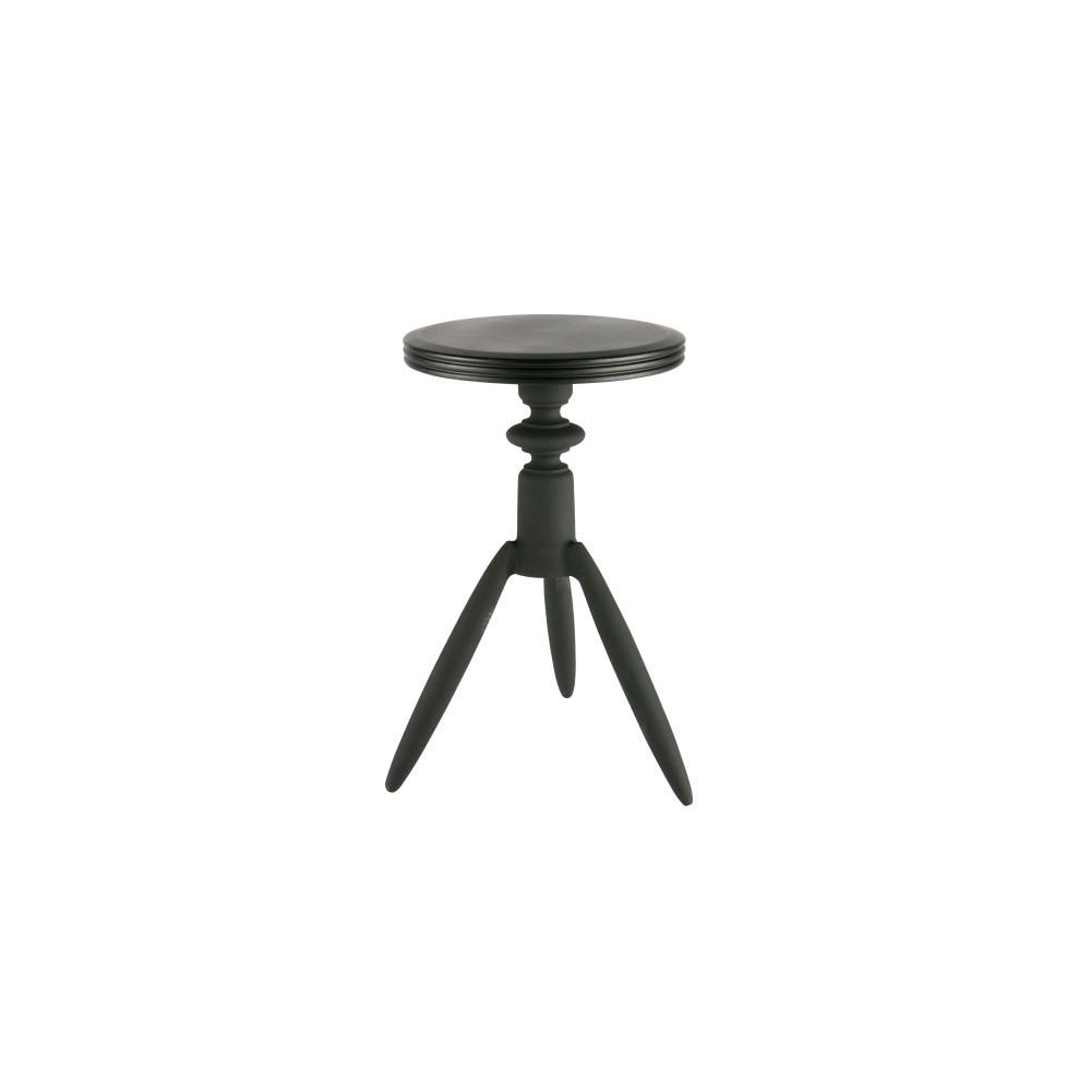 Čierna stolička DeEekhoorn Rocket