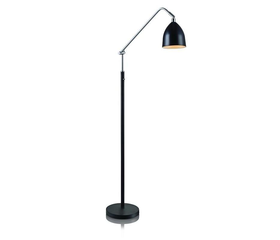 Čierna stojacia lampa Markslöjd Fredrikshamn