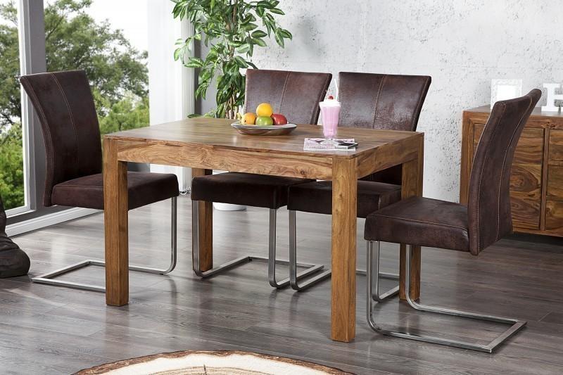 Jedálenský stôl LAOSE 120 - prírodná