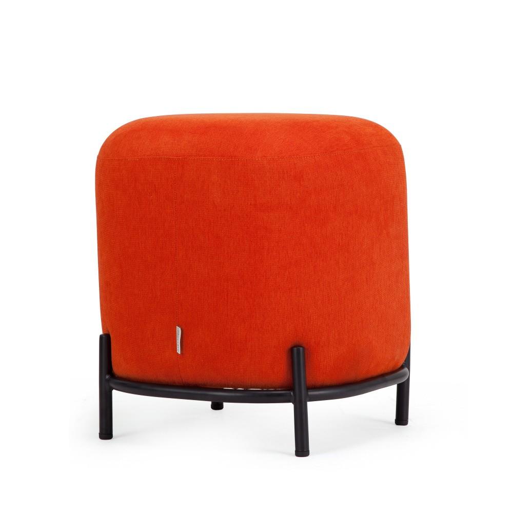 Oranžová taburetka Garageeight Ger