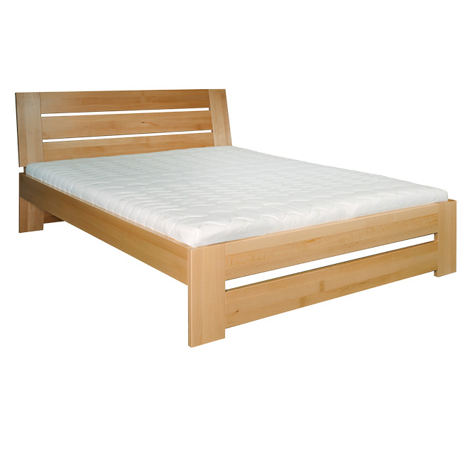 Manželská posteľ 200 cm LK 192 (buk) (masív)