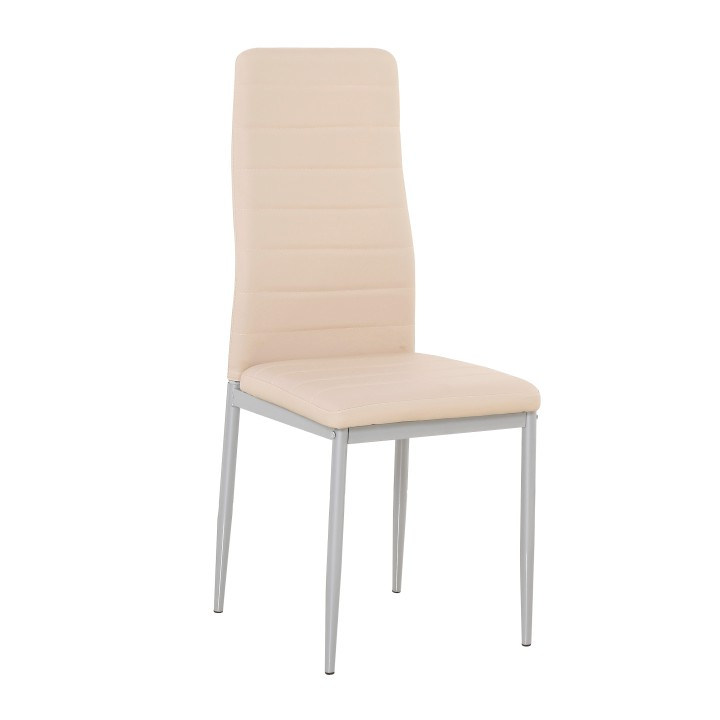 Jedálenská stolička Coleta nova (ružová)