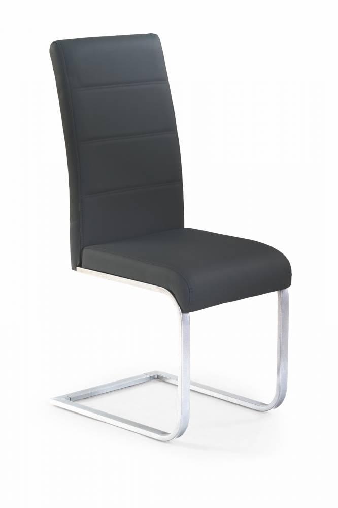 Jedálenská stolička K85 čierna