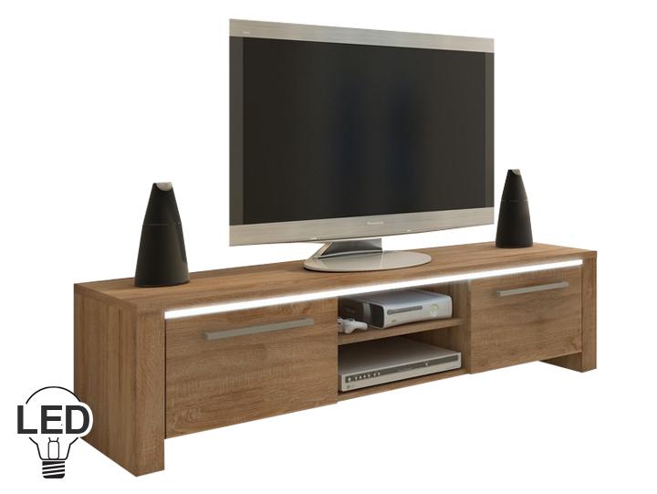 TV stolík/skrinka Helix (sonoma svetlá)
