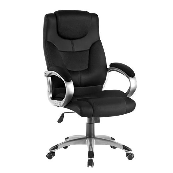 Kancelárska stolička čierna ZK72