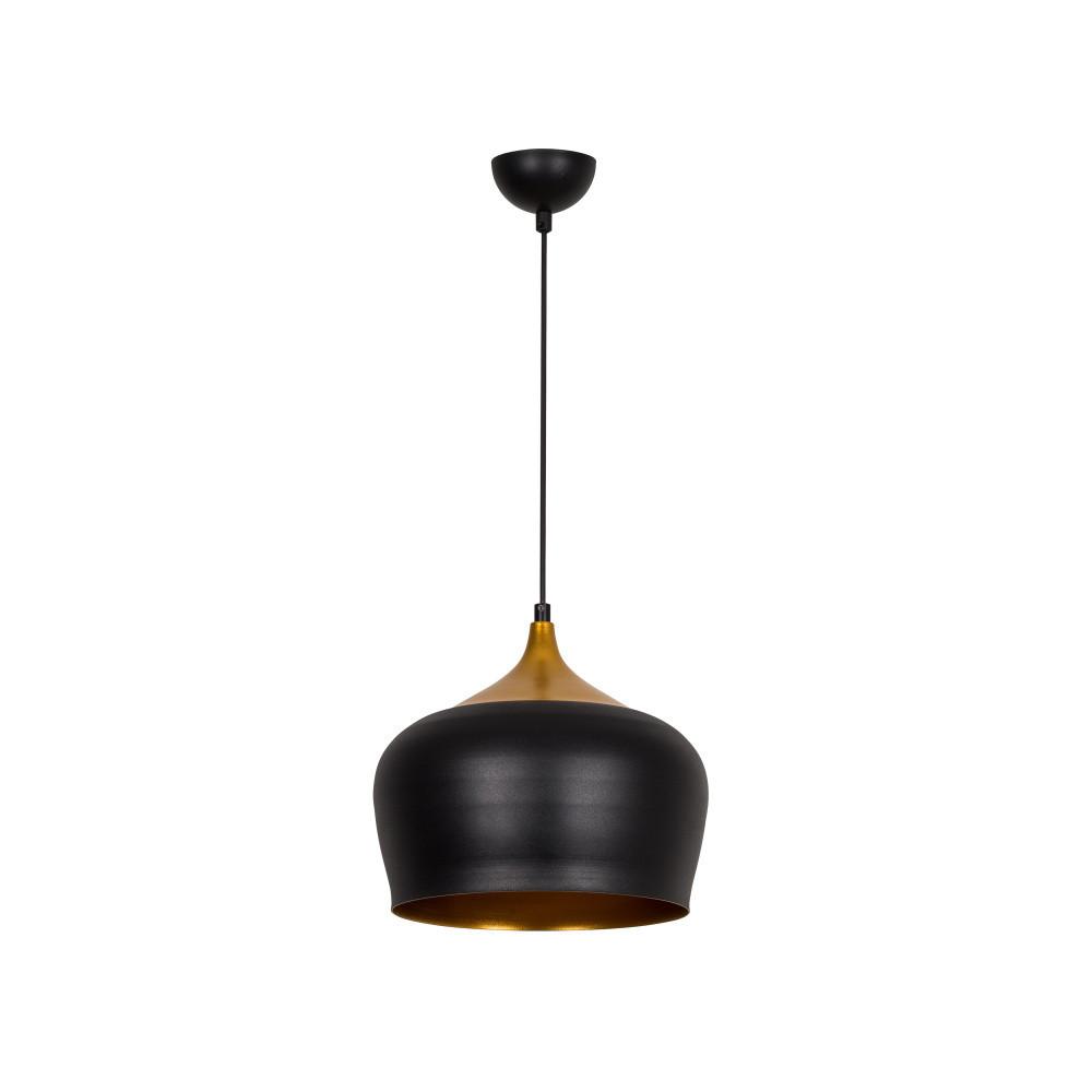 Zlato-čierne stropné svietidlo Ythan