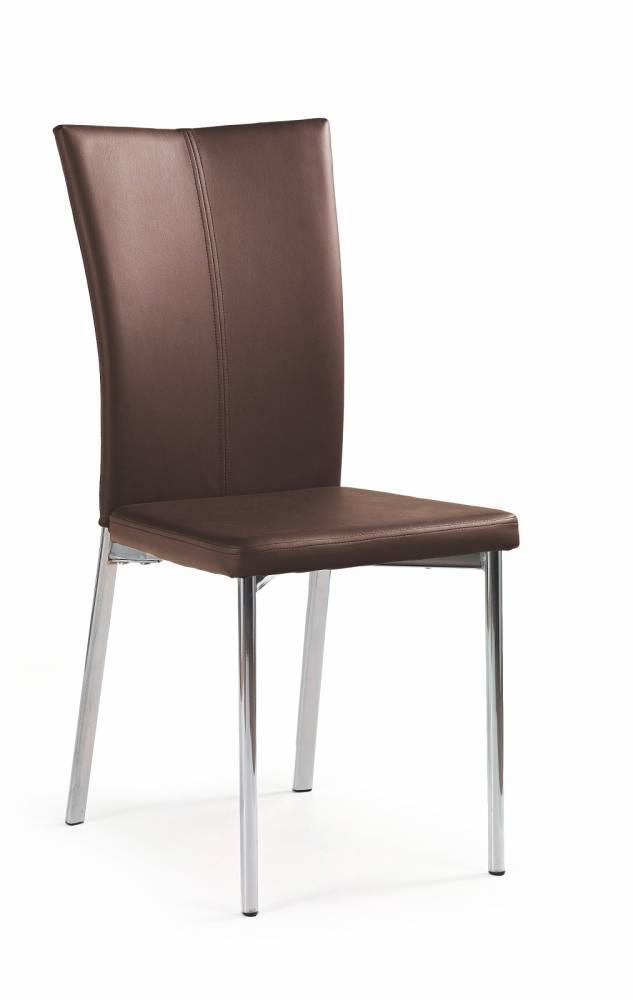 Jedálenská stolička K113 tmavohnedá