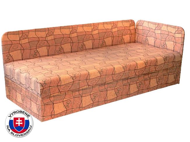 Jednolôžková posteľ (váľanda) 80 cm Edo 4/1 (s pružinovým matracom) (P)