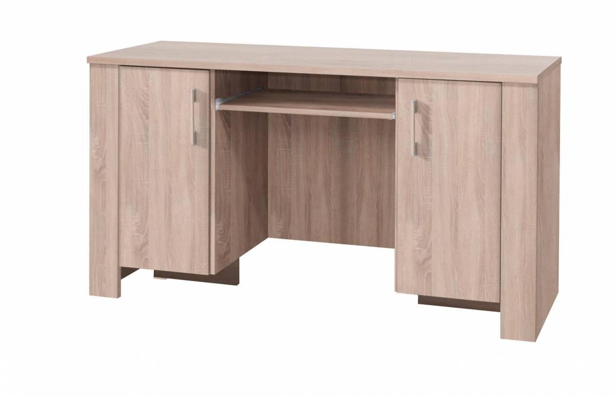 PC stolík C17 (dub sonoma)